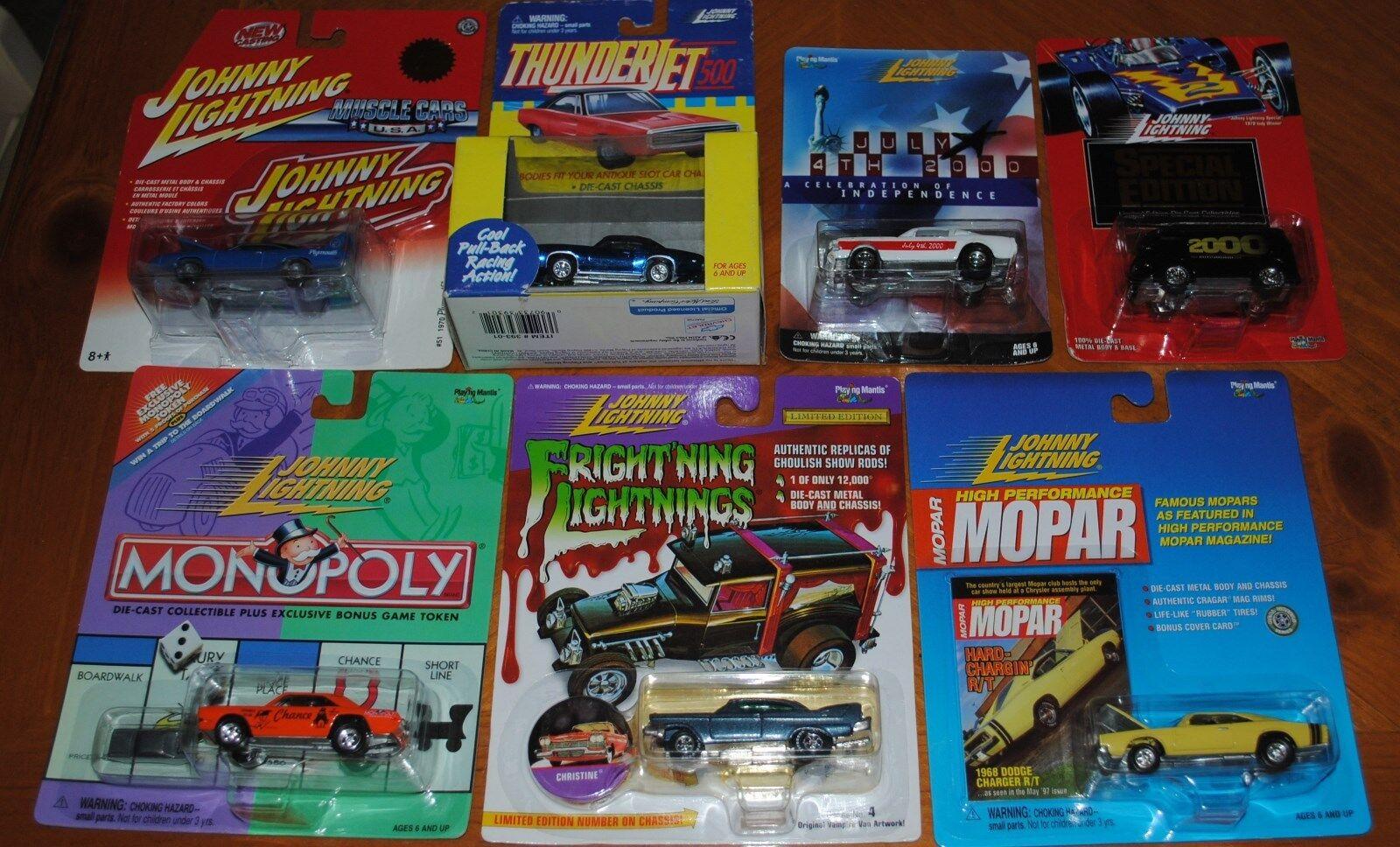 mas preferencial Johnny Lightning Lightning Lightning Colección Lote De 7 vehículos muy raro VW, Plymouth, y más  venta caliente