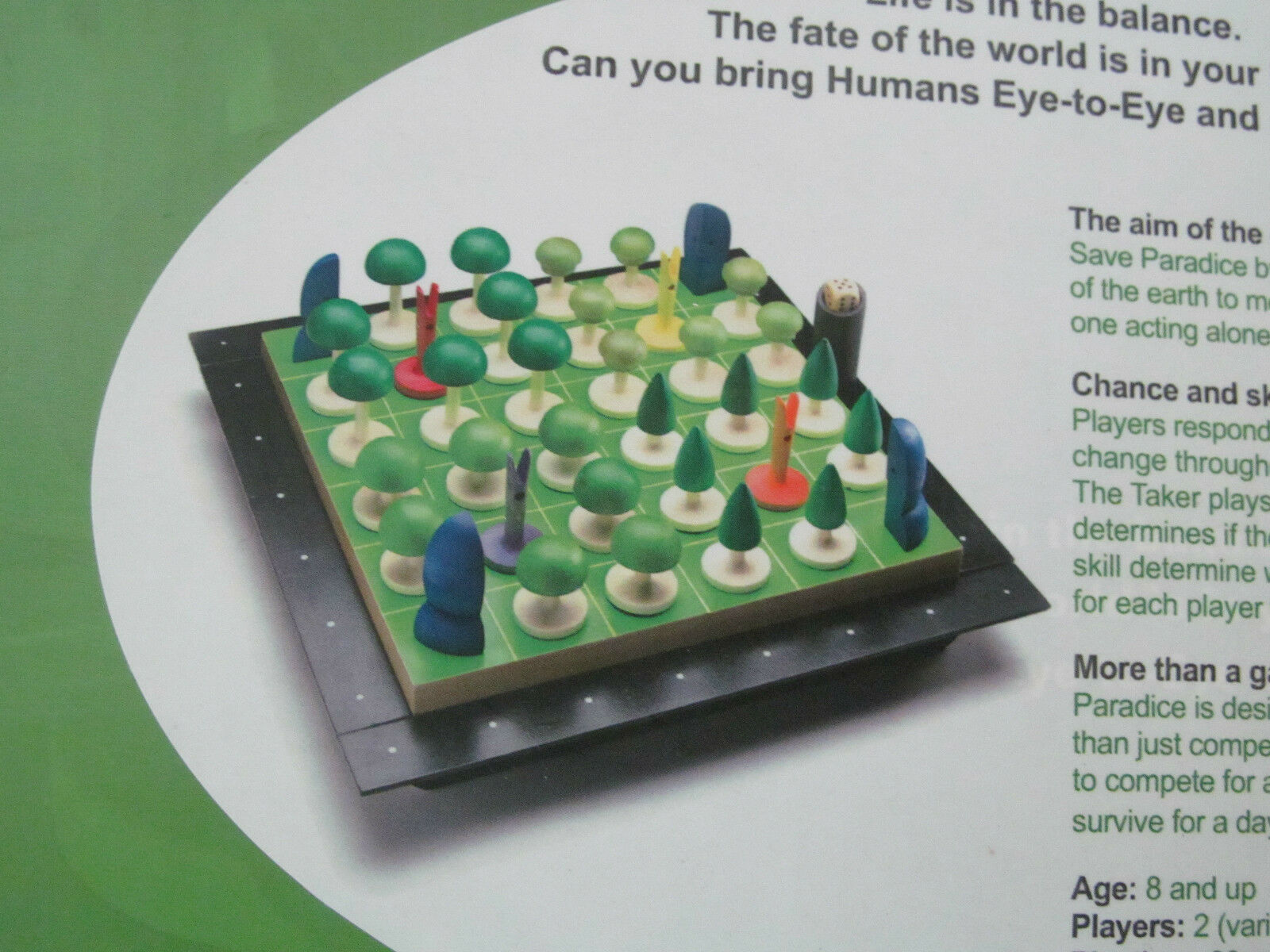 New Paradice Paradice Paradice Board Game by See Through Games for Conscious Living Educational 3a0ad1