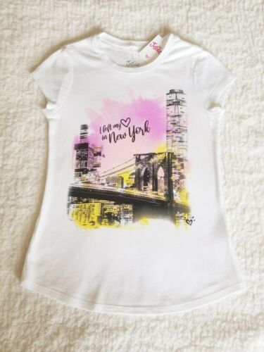 Justice Girls Size 6//7 I Left My Heart In New York Graphic Tee ❤ New With Tags