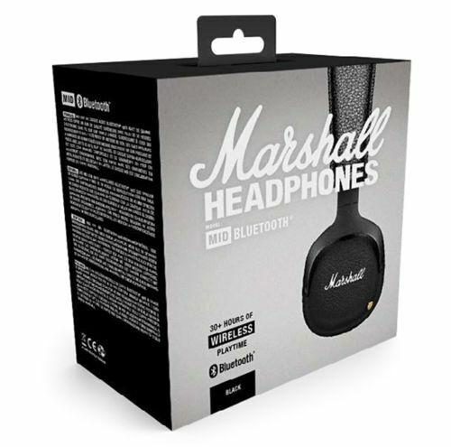 6f68566fd3d4fd Marshall Mid 7030341 Bluetooth On-ear Headphones - Black for sale online |  eBay