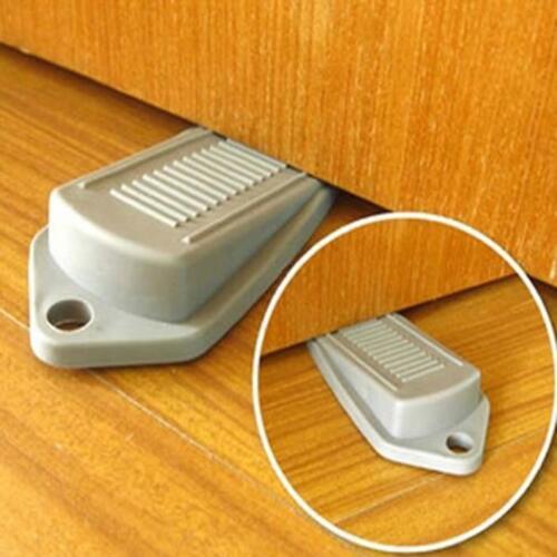 New Large Rubber Stopper Wedge Door Jam Catcher Block Home Room Office
