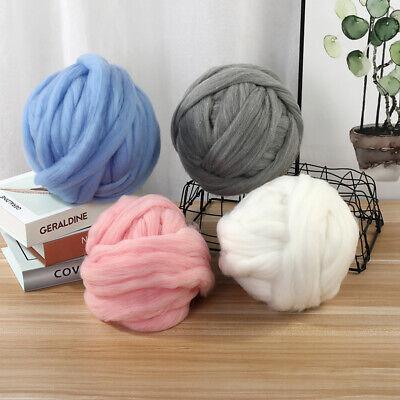CHARCOAL MERINO NEARLY BLACK Dyed wool tops roving needle felting wool 50g