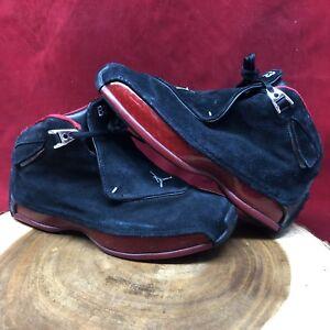 60aec1dbabcfa Nike Air Jordan Retro XVIII Black Red Bred CDP Size 6.5y 332251-061 ...