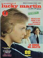 fotoromanzo LE AVVENTURE DI LUCKY MARTIN ANNO 1978 NUMERO 123 GLIGOROV ROC NEIL