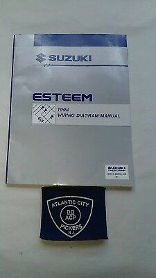 1998 1999 SUZUKI ESTEEM ELECTRICAL WIRING DIAGRAM SERVICE ...