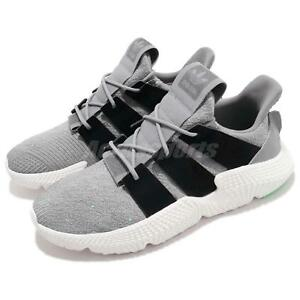 new arrival 559c1 2a1af Image is loading adidas-Originals-Prophere-Grey-Black-White-Men-Running-