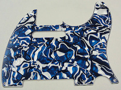 Made in the USA D/'Andrea Pro Pickguard Tele Style Blue Swirl Free Shipping