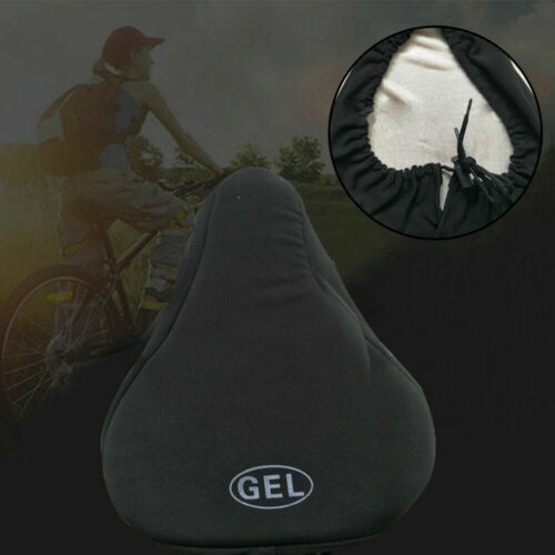 Bike EXTRA Comfort Soft Gel Pad Comfy Cushion Saddle Seat Cover Bicycle Cycle AU