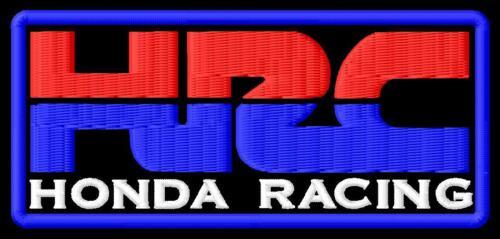HRC IRON ON PATCH Aufnäher Parche brodé patche toppa racing Racing honda sport