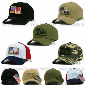 USA-American-Flag-hat-Detachable-Patch-Tactical-Operator-Military-Baseball-cap