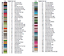 DMC-Modern-Colorful-Cross-Stitch-Embroidery-Pattern-Chart-PDF-14-Count thumbnail 84