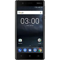 NOKIA 3 BLACK DUAL-SIM ANDROID SMARTPHONE HANDY OHNE VERTRAG LTE/4G WiFi WLAN