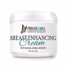 Organic Breast Enhancement Cream Helps in Tightening Sagging and Loose Skin 2oz