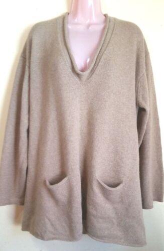 Pullover Marina lana Maglione L Womens marrone 6 light Rinaldi vergine Cashmere wwqCO