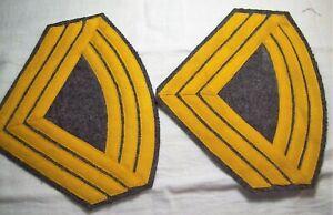 Civil-War-reenactors-CS-ChevronsCavalry-SGT-Major-100-wool-backing
