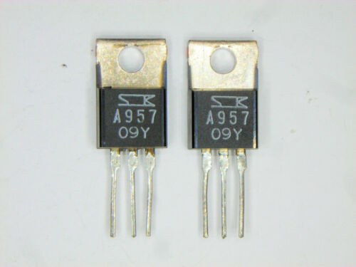 "2SA957 /""Original/"" SANKEN Transistor 2  pcs"