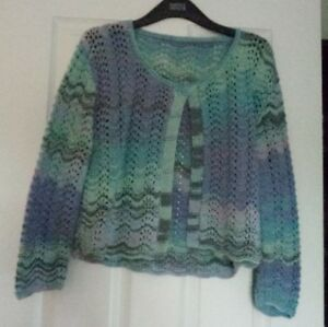 Handmade-ladies-summer-cardigan-size-10-12