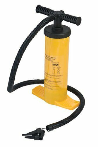 HIGH PRESSURE DOUBLE  ACTION HAND AIR PUMP for bed inflatable tent awning  outlet online store