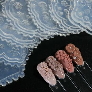 1Pcs-Silicone-Nail-Art-Mold-Acrylic-Powder-Sculpture-Flower-Template-Manicure