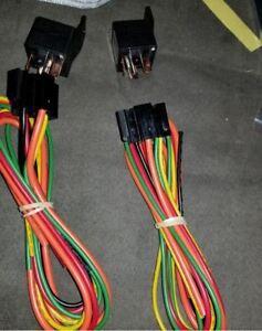 Derale 16765 Dual Electric Fan Relay Wire Harness Kit 40 ...