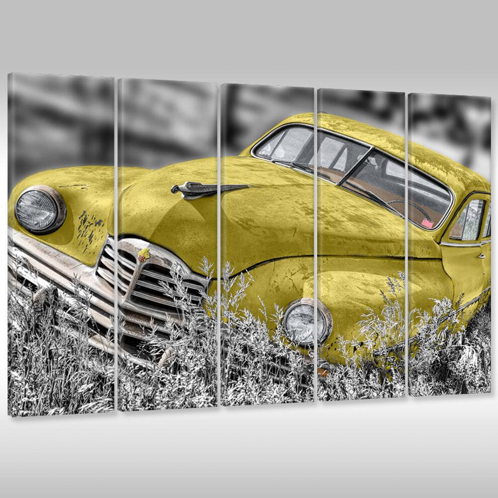 Nuovo Quadro su Tel Tela Poster Fotografia Era Arte Motorisierung Auto Im Era Fotografia Antica 33d46d