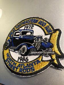 Super-seltene-Vintage-Hot-Rod-Bestickt-Patch-Mechaniker-Street-Rod-Oldtimer