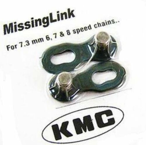 2 pairs Re-Usable gobike88 KMC missing link for 6 /& 7 /& 8 speed 313 Silver