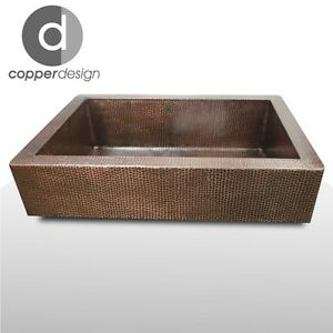 Short Apron Farmhouse Sink : ... about Copper Farmhouse Kitchen Sink with short Apron on 3 sides33