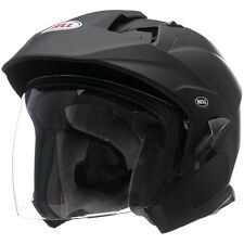 Bell Mag-9 Sena Solid Matte Black Helmet Large NEW