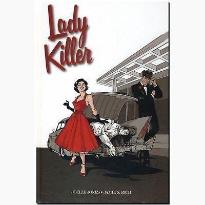 Lady Killer 1 LIMITIERT 222 Ex PANINI feminin pink durchgestylter Auftragskiller