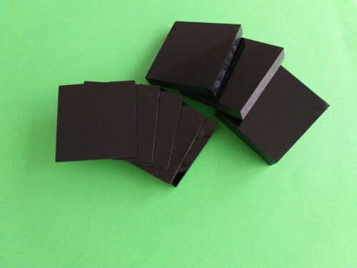 3 mm PLEXIGLAS® GS Schwarz Acrylglas 44,45€//m² Kostenfreier Wunschzuschnitt