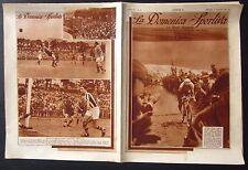 1933 DOMENICA SPORTIVA Alfredo Binda vinge il XXI Giro d'Italia ciclismo Legnano