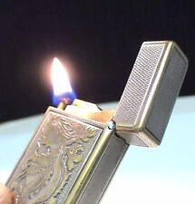 BRIQUET Ancien @ ST Dupont Drago @ Indochine War Oil Lighter Feuerzeug Accendino