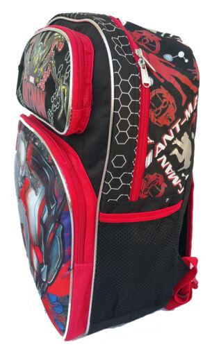 "Marvel Ant Man 16/"" School Large Backpack /& Lunch Bag 2 pc set NEW!!"