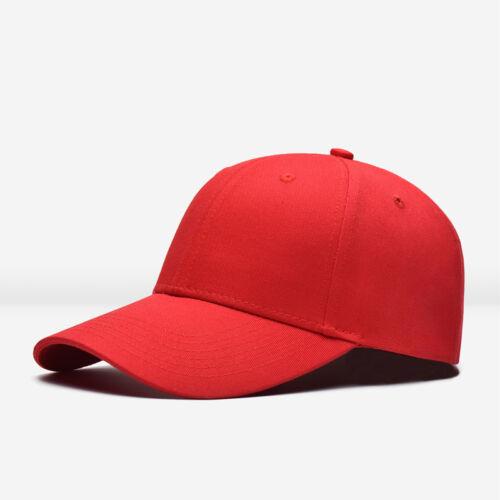 2018* Men Women New Black Baseball Cap Snapback Hat Hip-Hop Adjustable Bboy Cap