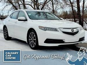 2017 Acura TLX SH-AWD TECH PKG $179B/W /w Sun Roof Backup Camera, Navigation. DRIVE HOME TODAY! QUICK & EASY FINANCING!