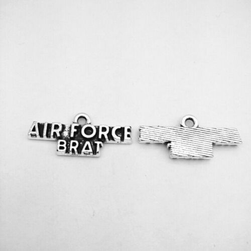 military wife,military mom,AIRFORCE BRAT,AIRFORCE MOM,MARINE MOM,Charms Pendants