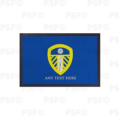 Modesto Leeds United Fc Ufficiale Singolo Lufc Crest Blu Personalizzato Porta Tappetino Ldm002-mostra Il Titolo Originale Per Migliorare La Circolazione Sanguigna
