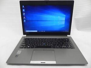 Toshiba-Portege-13-3-034-Z30-A1301-Windows-10-i5-4300-2-5GHz-8GB-RAM-120SSD