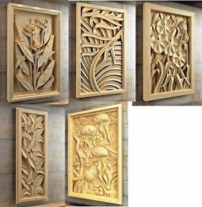 5 models 3d stl file artcam aspire model for cnc engraving carving