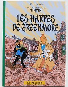 Pastiche-Tintin-LES-HARPES-DE-GREENMORE-Album-cartonne-76-pg-couleurs-IRLANDE