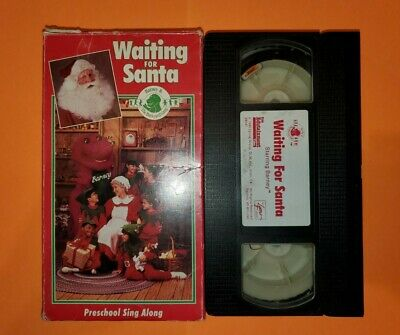 Barney & Backyard Gang Waiting For Santa VHS RARE EARLY ...