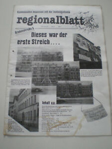 Regionalblatt-Nr-35-1981-Kommunismus-Newspaper-Germany-Political