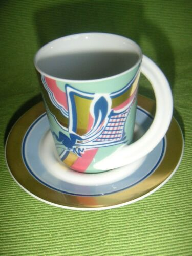 1 Rosenthal - Cupola Espressotasse Sammeltasse Nr.1 de Crousaz top