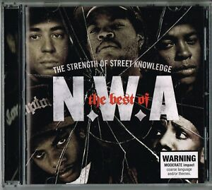 N-W-A-The-Best-Of-The-Strength-Of-Street-Knowledge-CD-2006-US-Hip-Hop-Gangsta