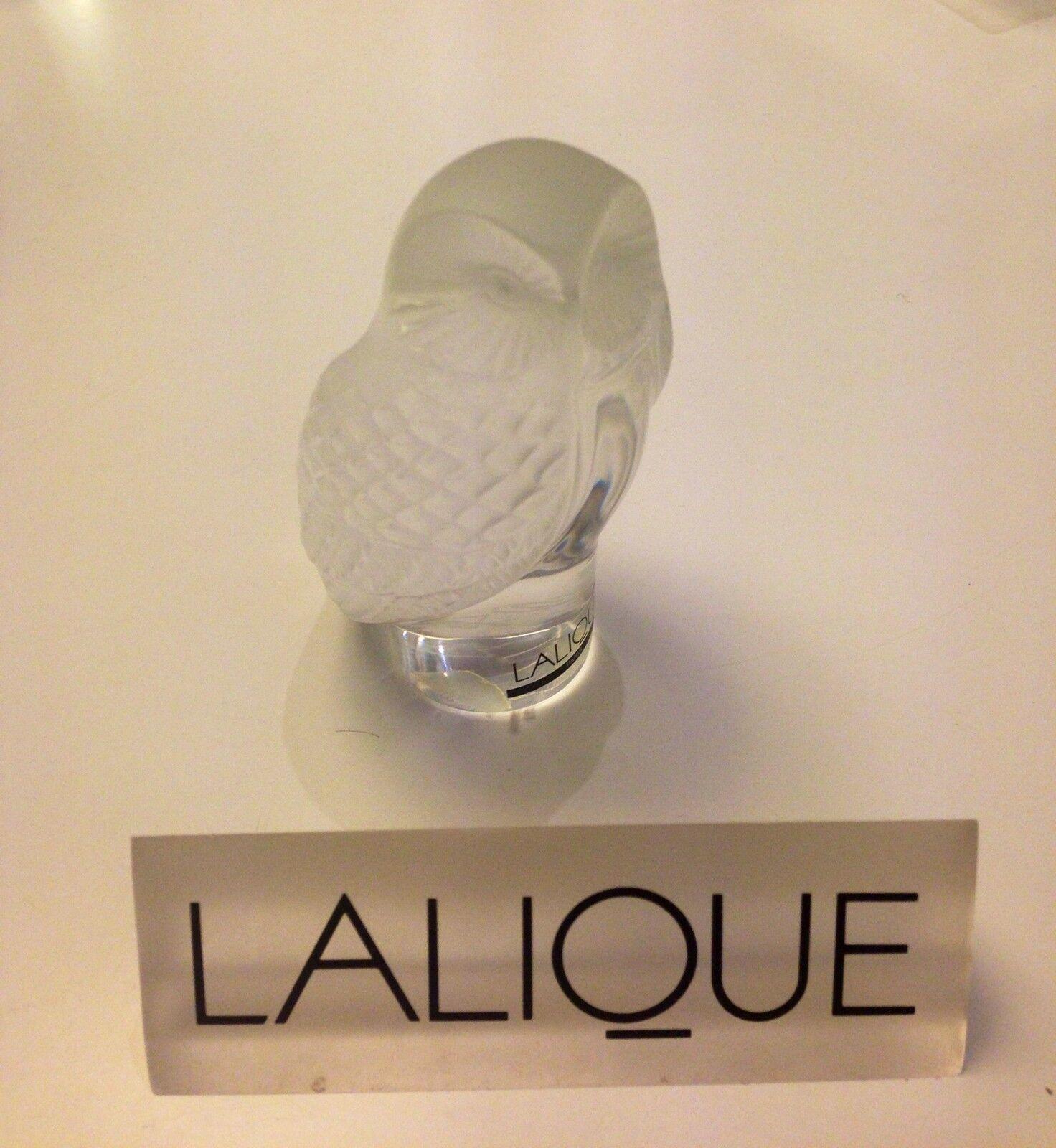 Scultura Civetta - Motif Chouette - Presse Papier Chouette - Owl - Lalique