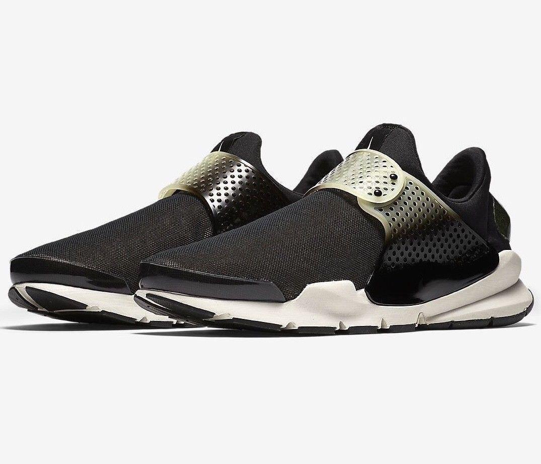 Premio nike sock dardo se 924479-001 uomo nero 10 scarpe nuove
