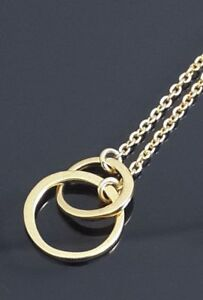 Inter-Lock-Link-Chain-14k-Yellow-Gold-Plated-Over-925-Sterling-Silver-Necklace