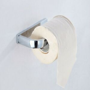 Chrome-Toilet-Paper-Towel-Roll-Holder-Bathroom-Wall-Mount-Rack