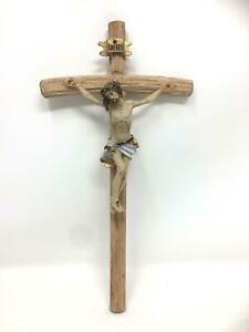 Wooden-Crucifix-Hanging-Cross-Jesus-Christ-Religious-Wall-Ornament